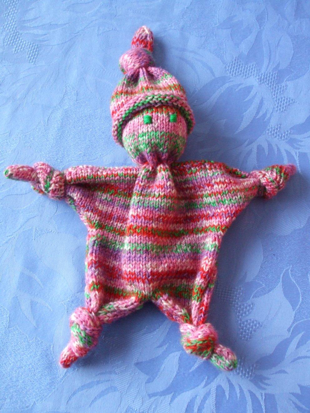 modele tricot doudou gratuit