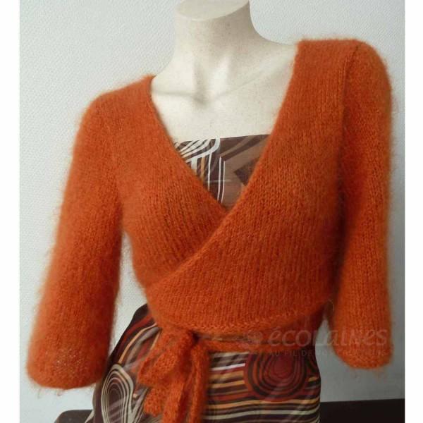 modele cache coeur tricot gratuit