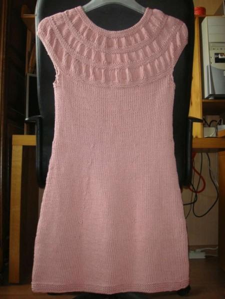 f8b7183f76b3 création modèle tricot robe tunique bouton source