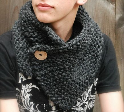 modele snood homme a tricoter