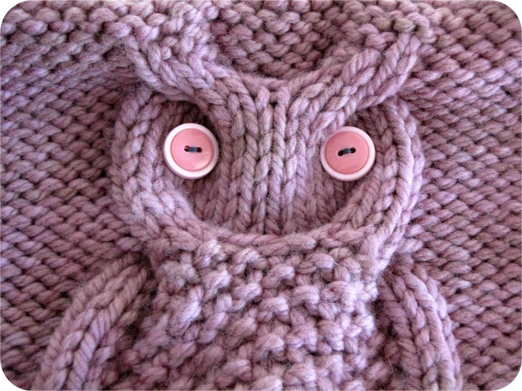 patron tricot tuque hibou