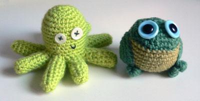 modèle animaux tricoter