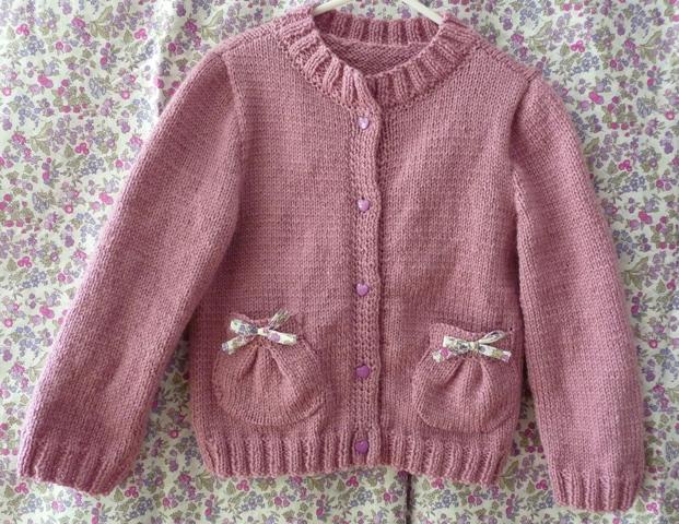 modele tricot 12 mois