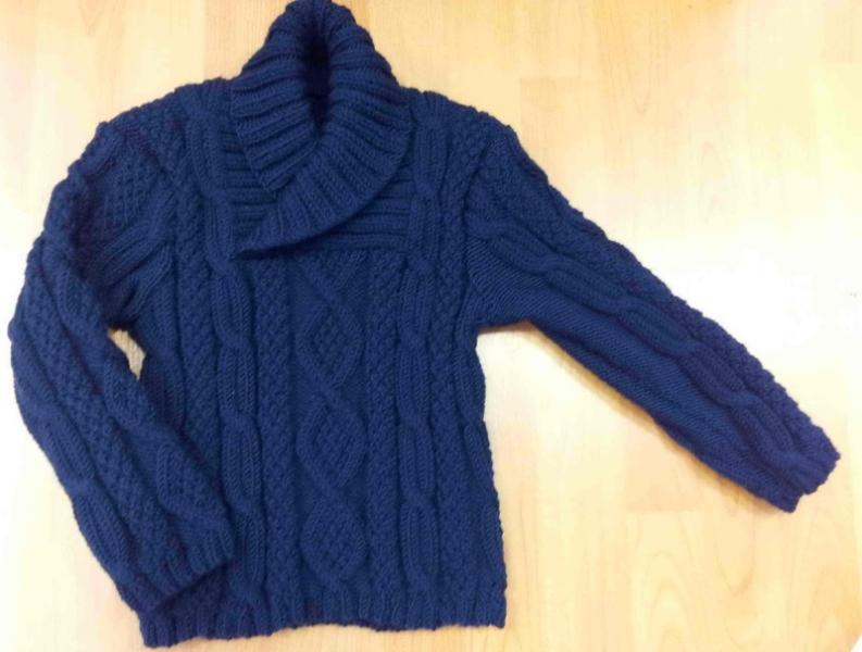 explication tricot pull enfant