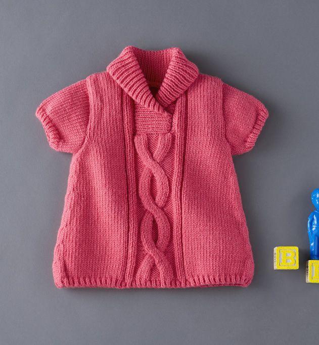modèle tricot robe layette
