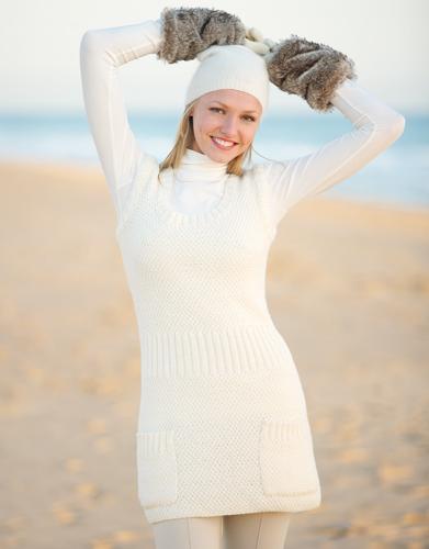 modèle tricot gratuit robe femme