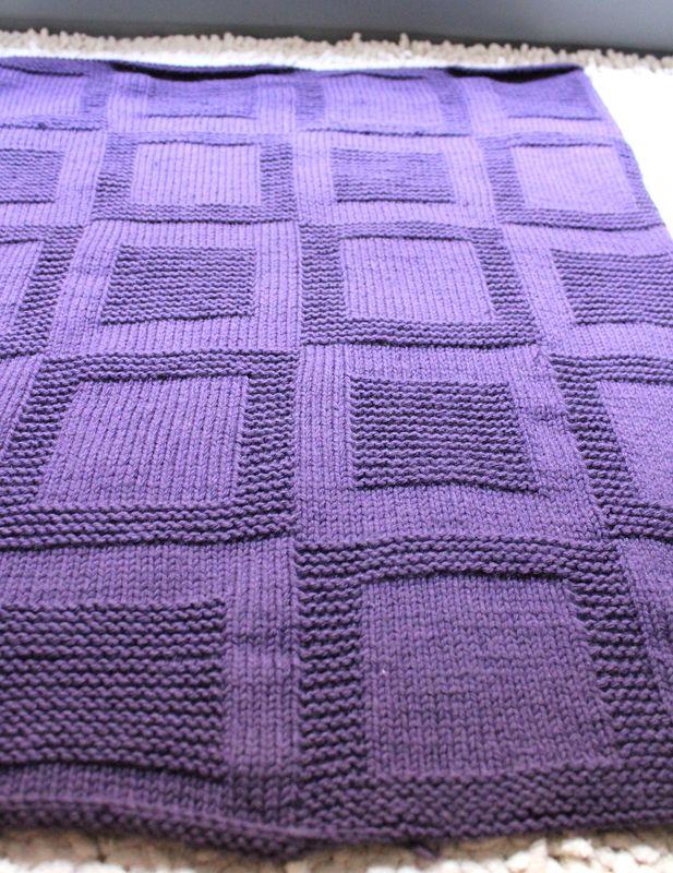 gratuit mod le couverture au tricot. Black Bedroom Furniture Sets. Home Design Ideas
