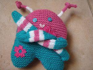 modèle tricot doudou animaux