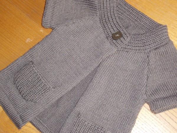modèle tricot gilet fille 12 mois
