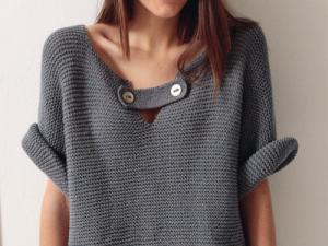 gratuit patron tricot gilet facile