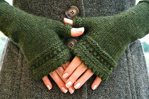 patron tricot mitaines