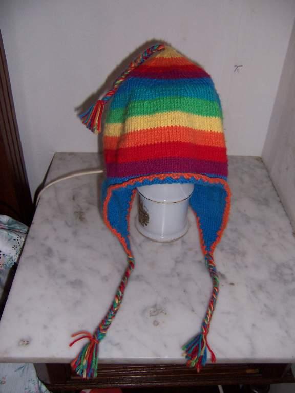 gratuit patron tricoter bonnet peruvien bouton source fc350851e2a