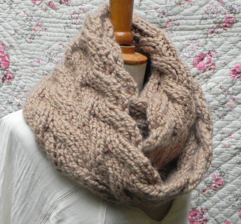 tricoter une echarpe aiguille 4