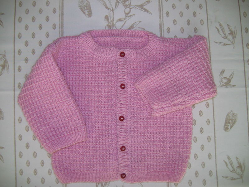 modele tricot fille 4 ans