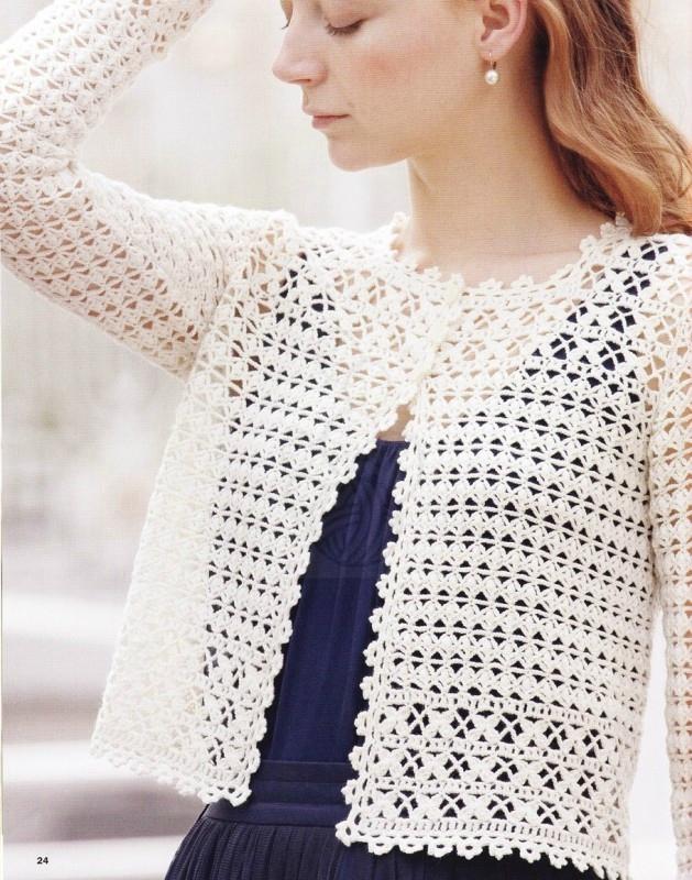 modele tricot femme au crochet