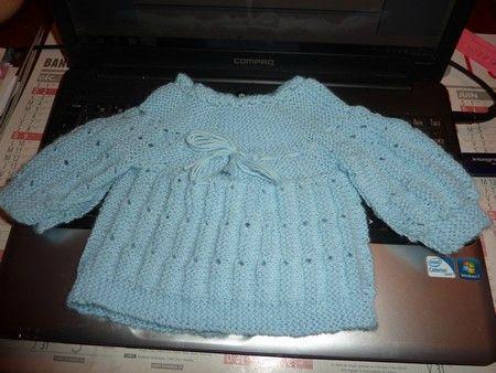 modèle tricot brassiere une piece