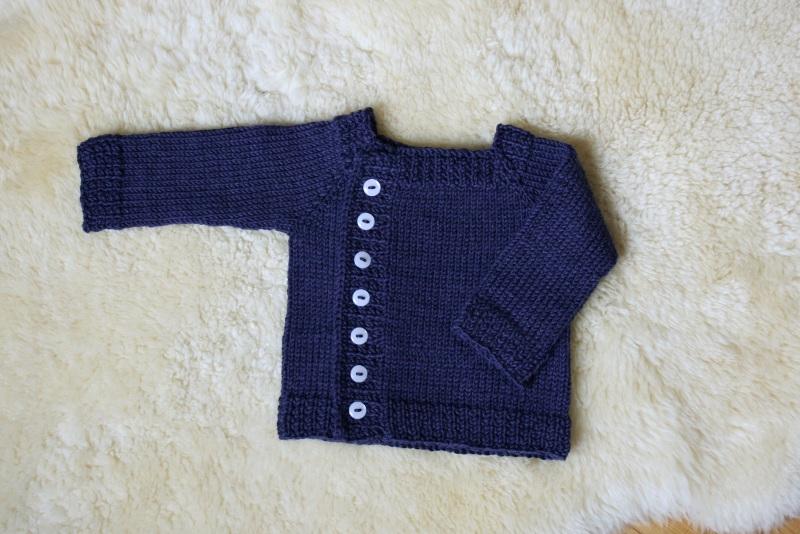 modèle tricot pull bébé facile