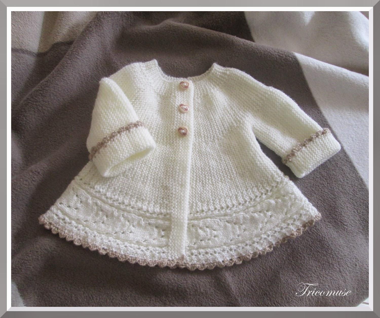modèle tricot bébé 1 mois
