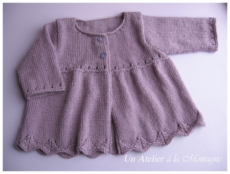 modele tricot 1 an