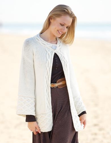 modèle tricot gilet veste femme