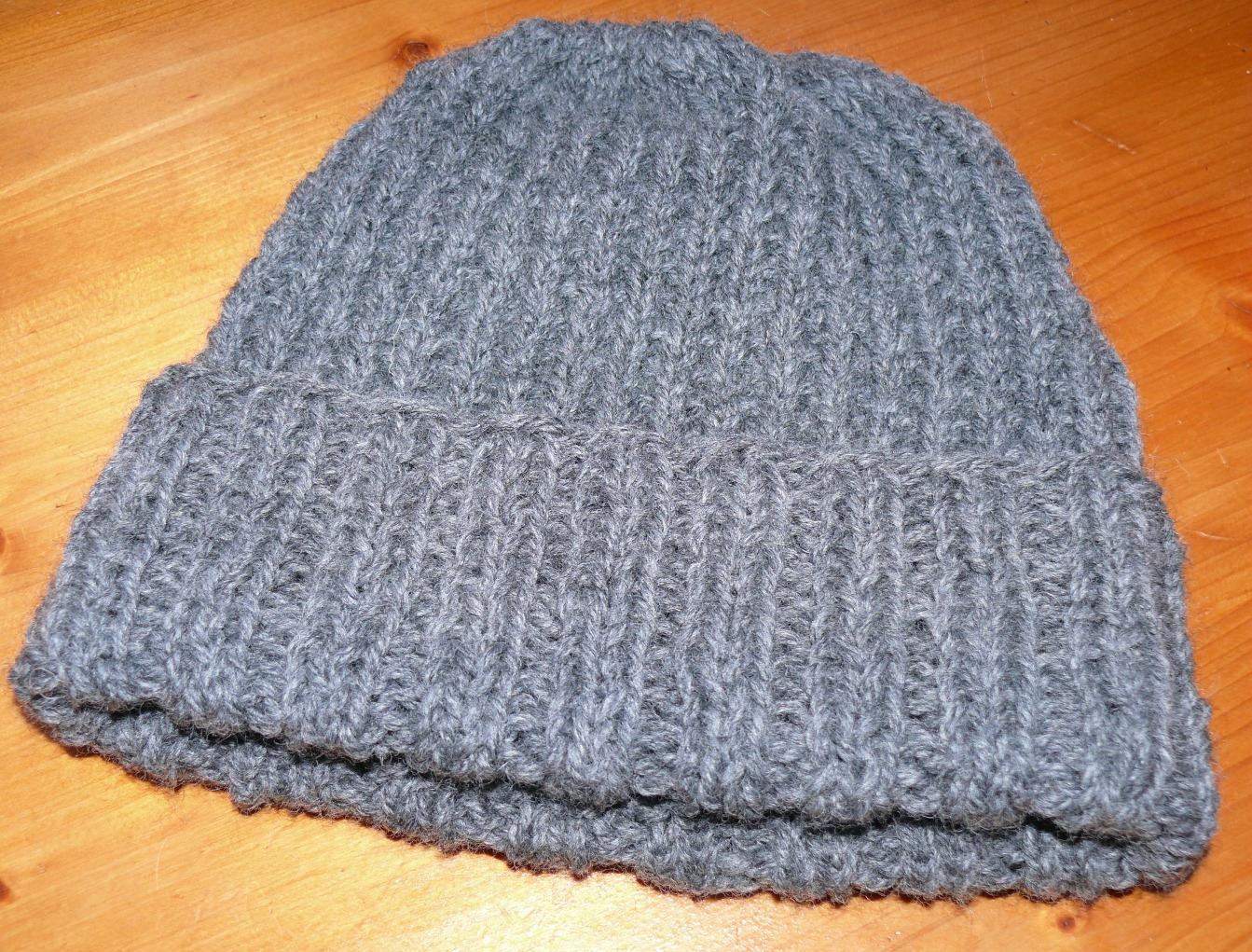 comment tricoter une tuque pour homme
