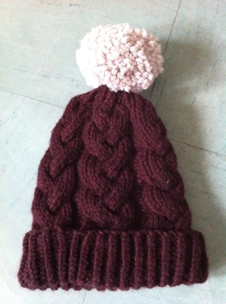 patron tricot tuque