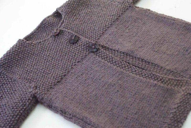 tricot gilet garcon 3 ans