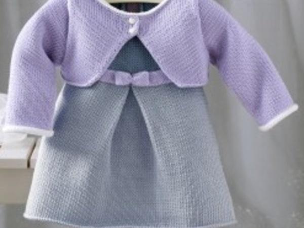 modèle robe tricot 12 ans