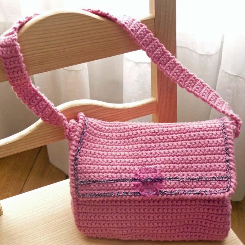 Des Sacs En Crochet : Image mod?le sac tricot crochet