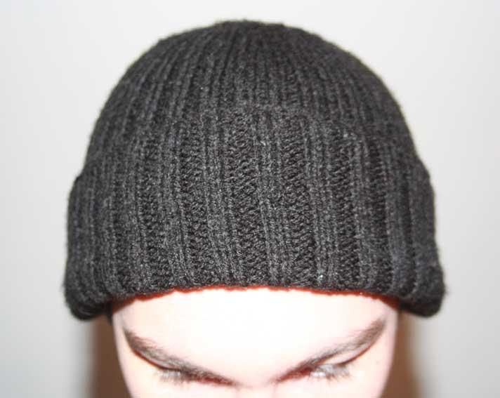 modele tricot bonnet jersey
