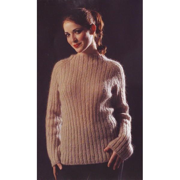 modèle tricot pull femme mohair