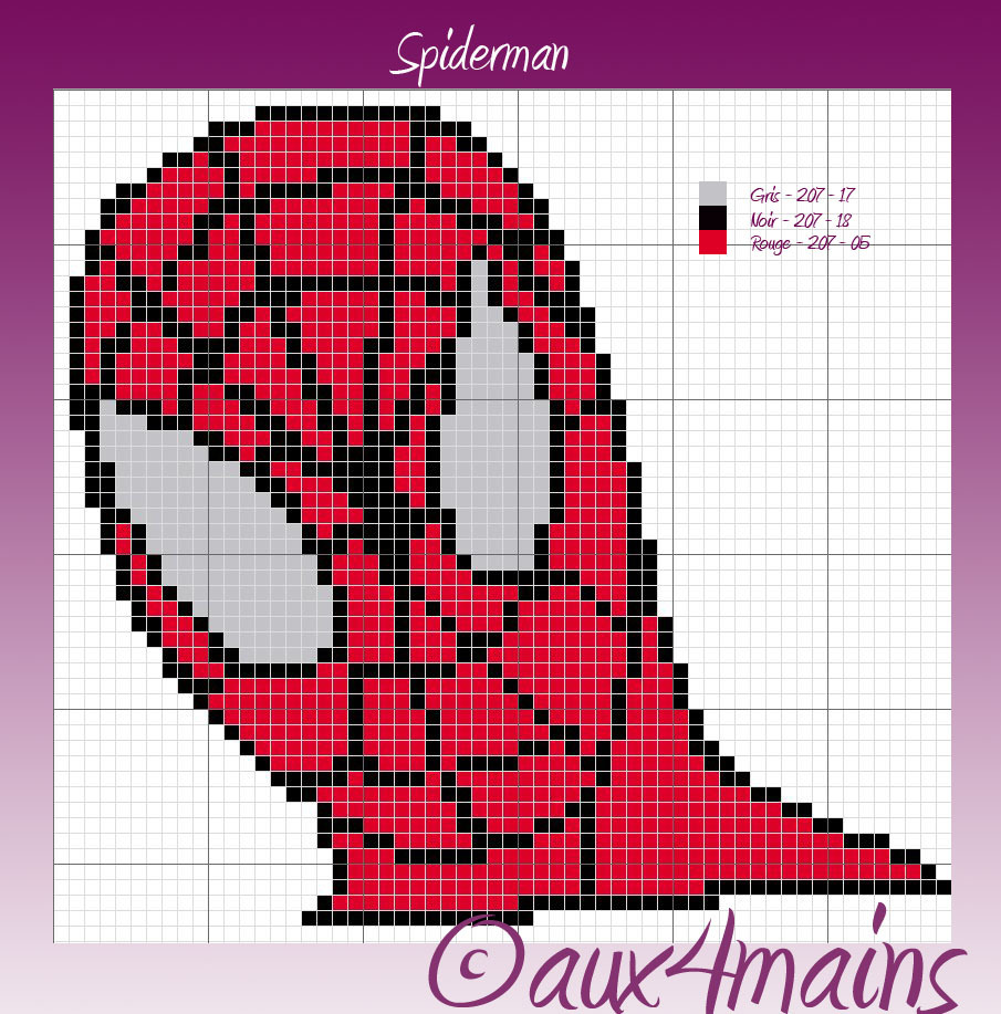 Mod le tricot spiderman - Spider man gratuit ...