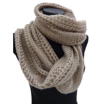 patron tricot foulard femme. Black Bedroom Furniture Sets. Home Design Ideas