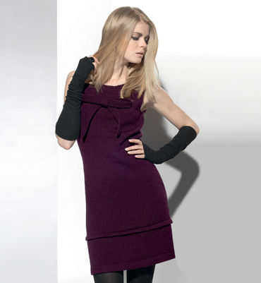 modèle tricot robe femme gratuit