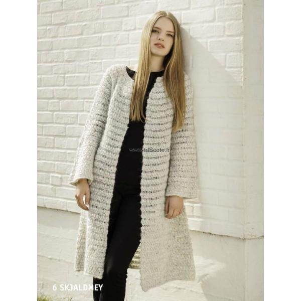 tricoter un manteau