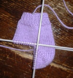 patron tricot bas 4 aiguilles
