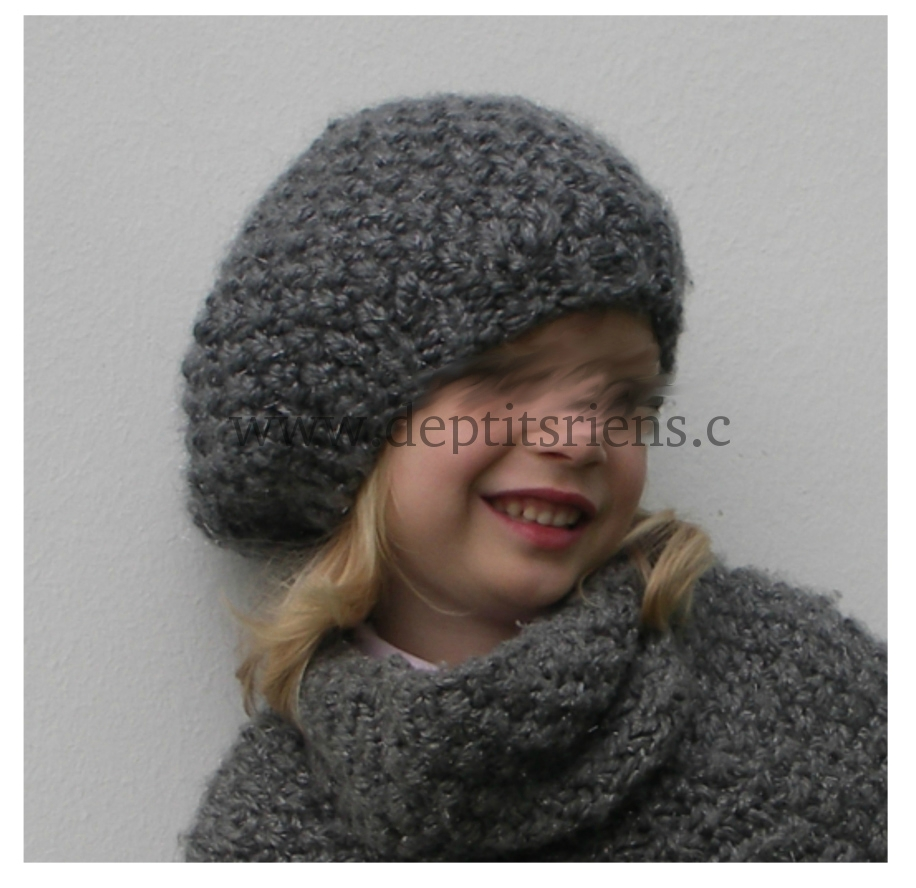 modele tricot bonnet 4 ans