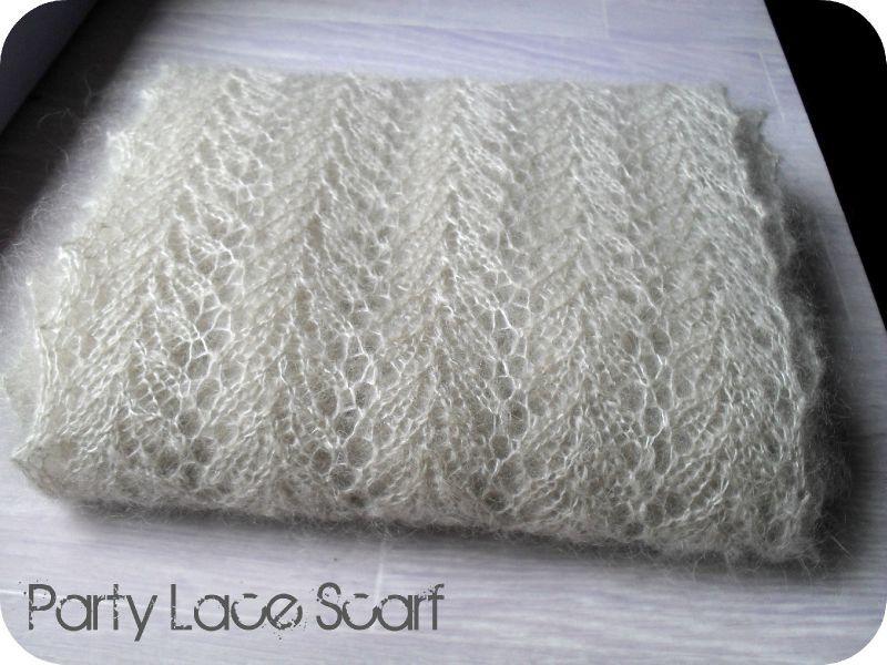 Tricoter une echarpe en mohair - Tricoter une echarpe en laine ...