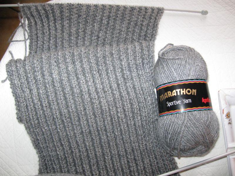 patron tricot foulard magique