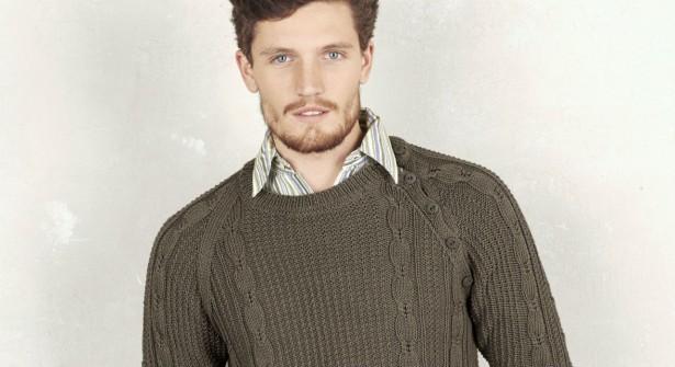 modèle tricot pull homme