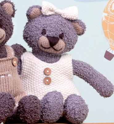 modèle tricot pull nounours