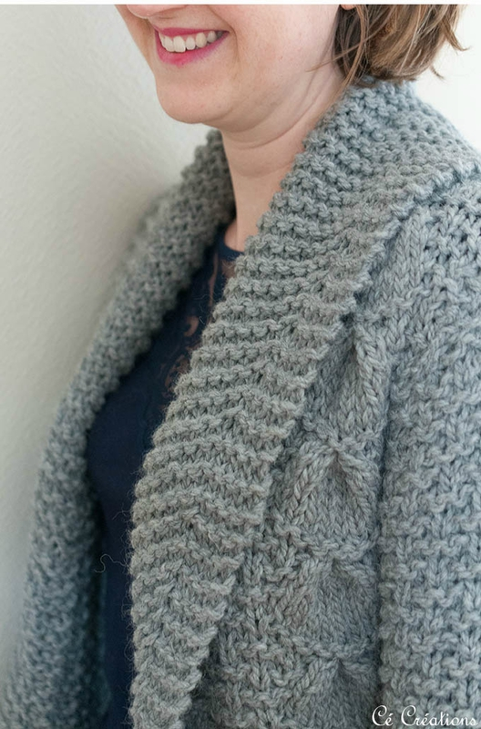 modèle veste tricot aiguille 7
