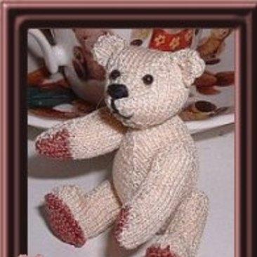 modèle tricot ours gratuit