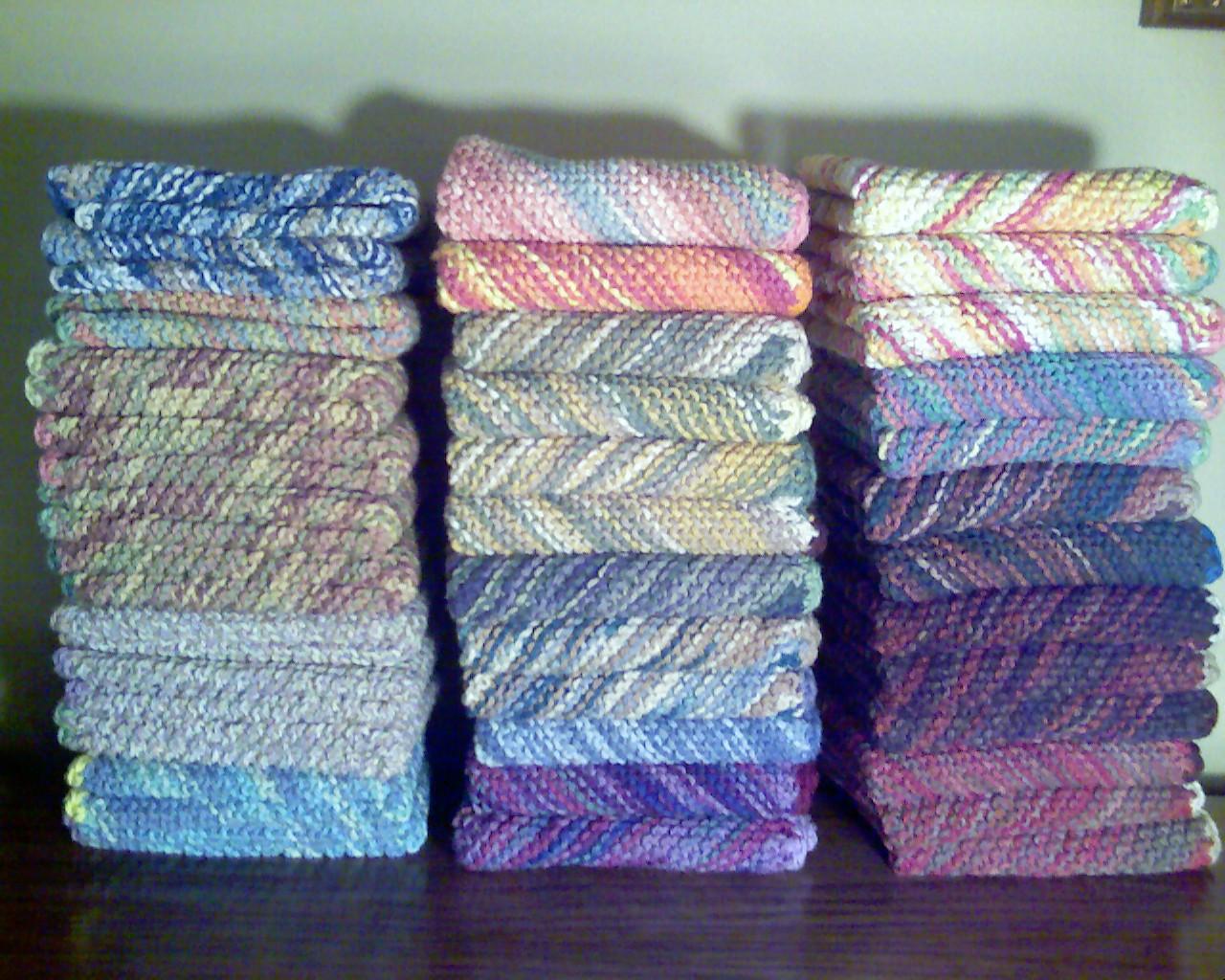patron tricoter torchon