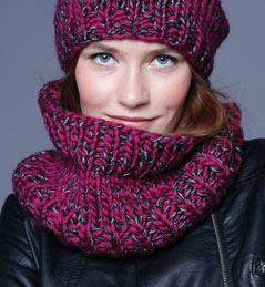 modele snood gratuit phildar