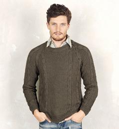 modele pull homme tricot gratuit