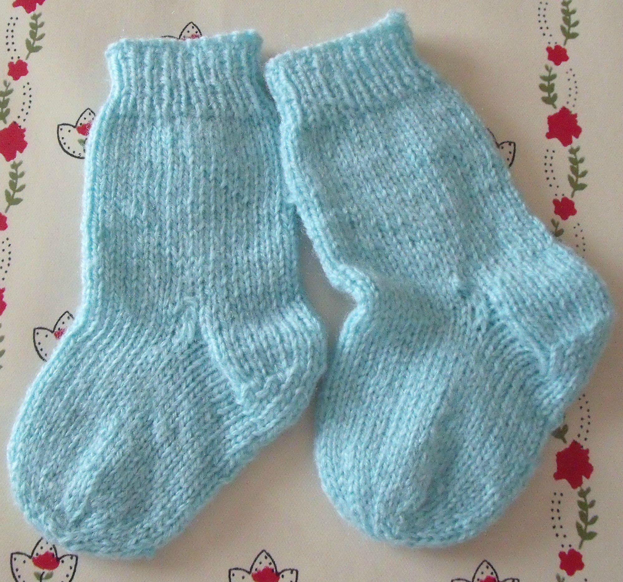 Modele tricot chaussettes deux aiguilles - Modele tricot aiguille circulaire ...