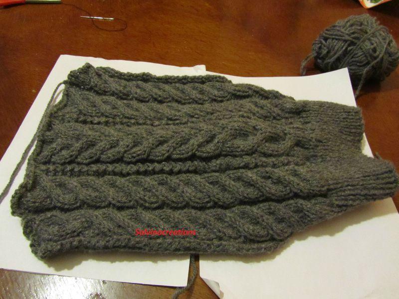 modèle tricot chien york