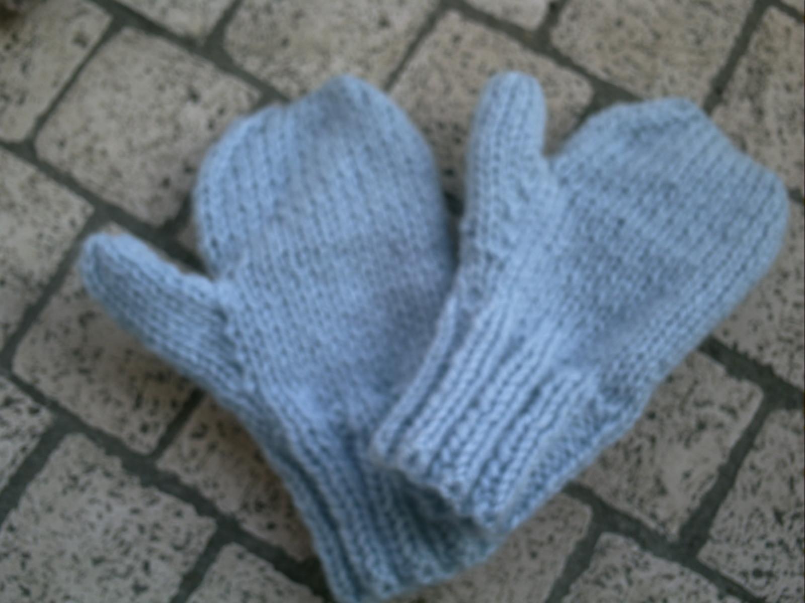modèle tricot gratuit moufles bébé c3dbf3009d4