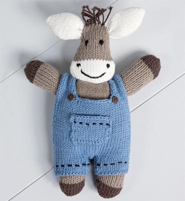 modèle doudou en tricot gratuit